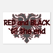 Red & Black Postcards (Package of 8)