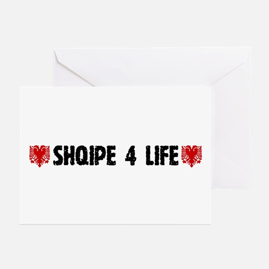 Shqipe 4 Life Greeting Cards (Pk of 10)