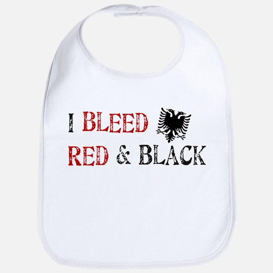 Bleed Red & Black Bib