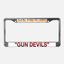 Funny Army paratrooper License Plate Frame