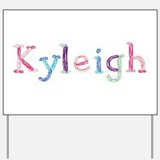 Kyleigh Princess Balloons Yard Sign