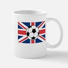 UK Soccer Flag Mug