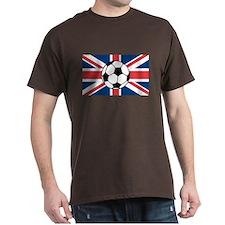 UK Soccer Flag T-Shirt