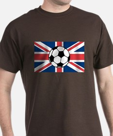 UK Soccer Flag T-Shirt