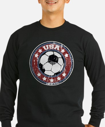 USA Soccer (distressed) T