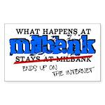 Milbank Sticker (Rectangle)