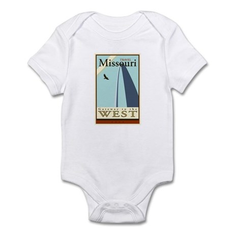 Travel Missouri Infant Bodysuit