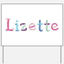 Lizette Princess Balloons Yard Sign
