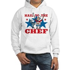 Hail To The BBQ Chef Hoodie