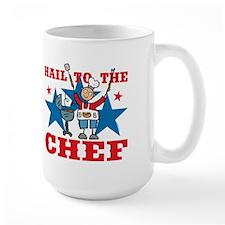 Hail To The BBQ Chef Mug