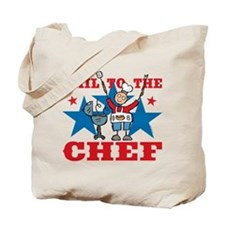Hail To The BBQ Chef Tote Bag