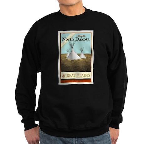 Travel North Dakota Sweatshirt (dark)