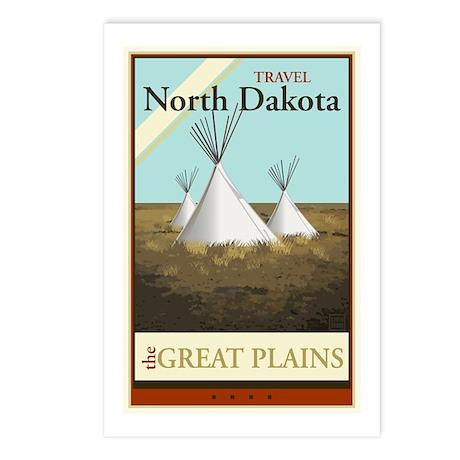 Travel North Dakota Postcards (Package of 8)