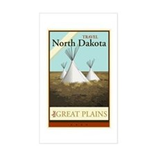 Travel North Dakota Decal