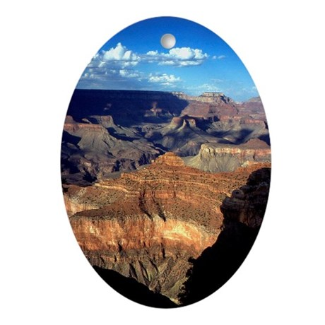 Grand Canyon Sunset Ornament (Oval)