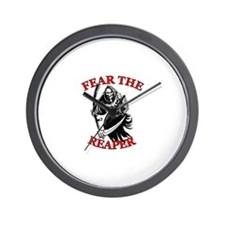Fear The Reaper Wall Clock