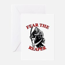 Fear The Reaper Greeting Cards (Pk of 10)