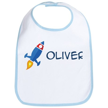 Oliver Rocket Ship Bib