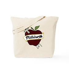 Sword & Apple Tote Bag