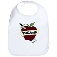 Sword & Apple Bib