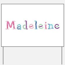 Madeleine Princess Balloons Yard Sign