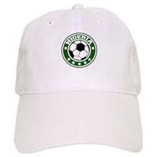 Nigeria Soccer Baseball Cap