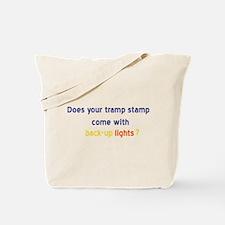 Back-up Lights Tote Bag
