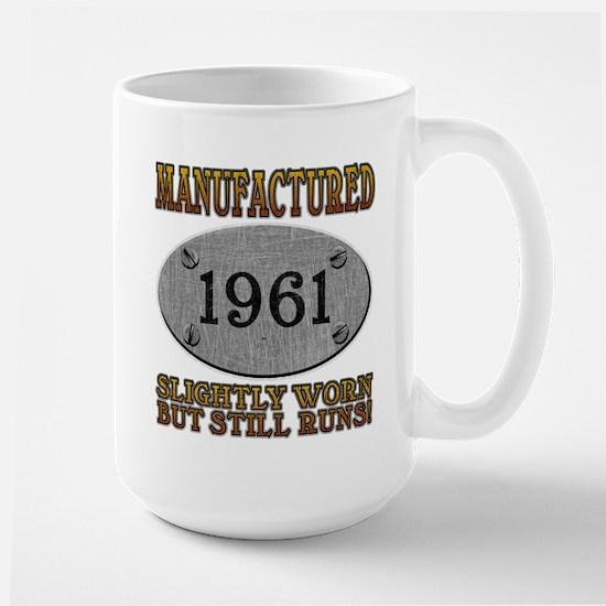 Manufactured 1961 Large Mug