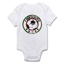 Mexico Soccer (distressed) Infant Bodysuit