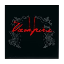 Vampire Blood Dance Tile Coaster