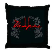 Vampire Blood Dance Throw Pillow