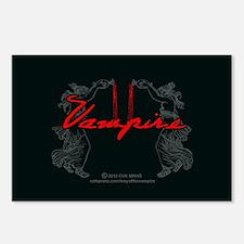 Vampire Blood Dance Postcards (Package of 8)