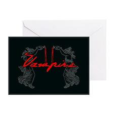 Vampire Blood Dance Greeting Cards (Pk of 20)