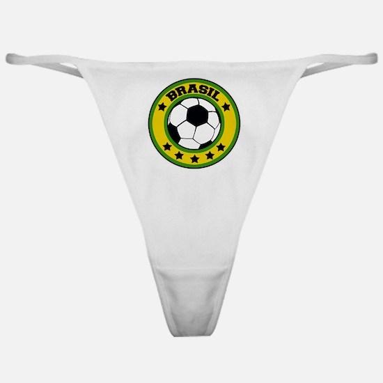 Brasil Soccer Classic Thong
