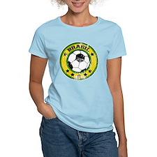 Brasil Soccer (distressed) T-Shirt