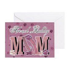 French Bulldog MOM Greeting Card