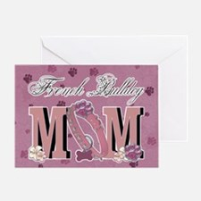 French Bulldog MOM Greeting Card