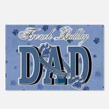 French Bulldog DAD Postcards (Package of 8)
