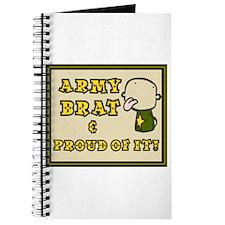 Army Brat Journal (White) *Great Gift*
