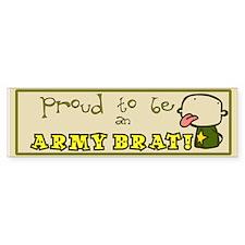Army Brat Military Bumper Bumper Sticker