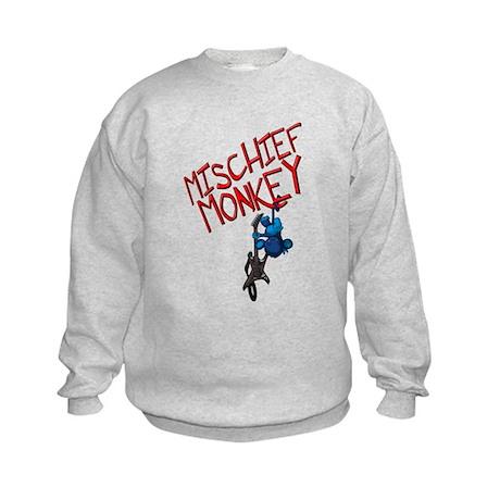 Mischief Monkey Kids Sweatshirt