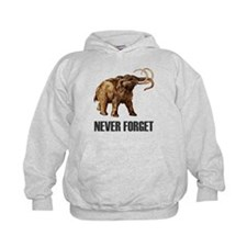 Never Forget Woolly Mammoth Hoodie