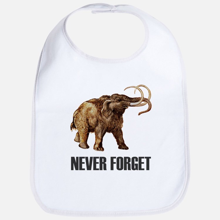 Never Forget Woolly Mammoth Bib