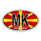 Macedonia stickers Single