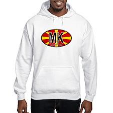 Macedonian Oval Colors Hoodie