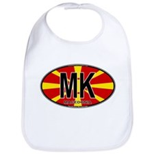 Macedonian Oval Colors Bib