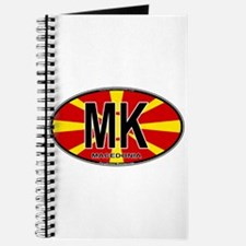 Macedonian Oval Colors Journal