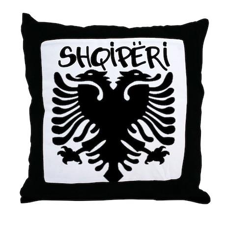 Shqiperi Throw Pillow