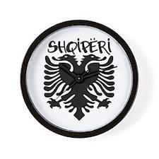 Shqiperi Wall Clock