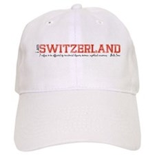 i am Switzwerland Baseball Baseball Cap